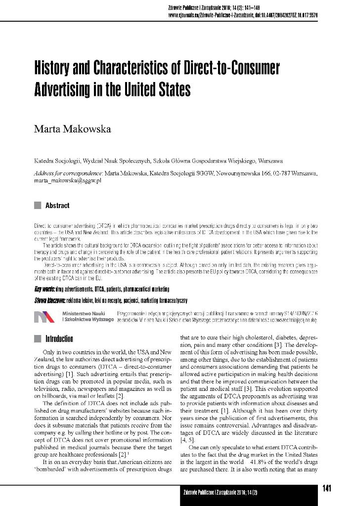DTC Advertising